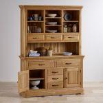 Canterbury Natural Solid Oak Large Dresser - Thumbnail 8