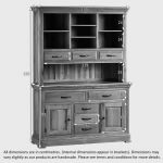 Canterbury Natural Solid Oak Large Dresser - Thumbnail 7