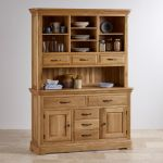 Canterbury Natural Solid Oak Large Dresser - Thumbnail 3