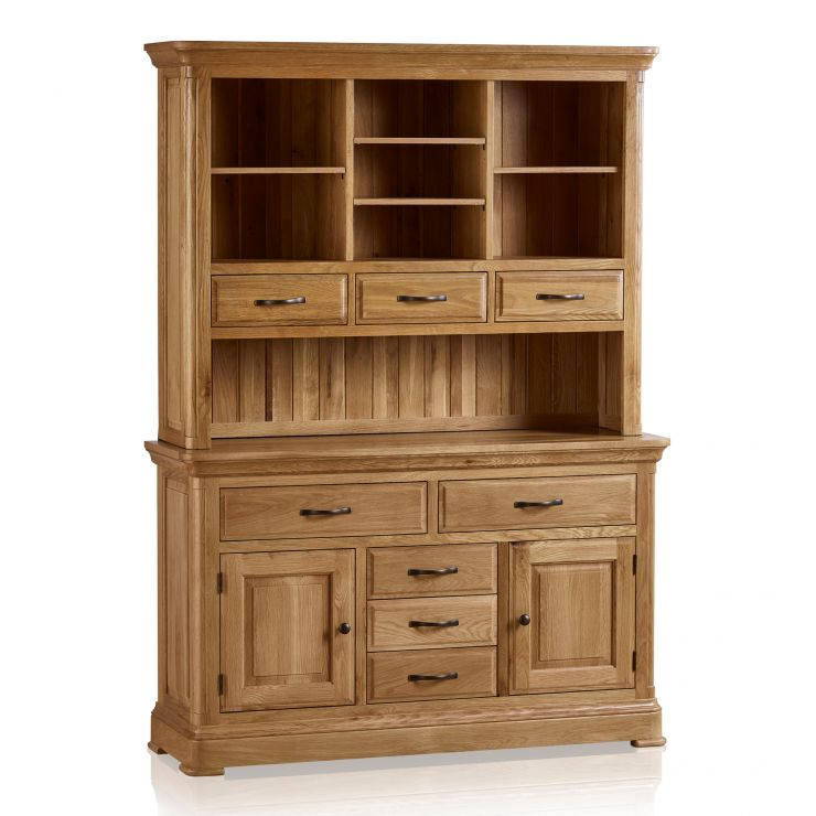 Canterbury Natural Solid Oak Large Dresser - Image 8