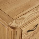 Canterbury Natural Solid Oak Large Sideboard - Thumbnail 7