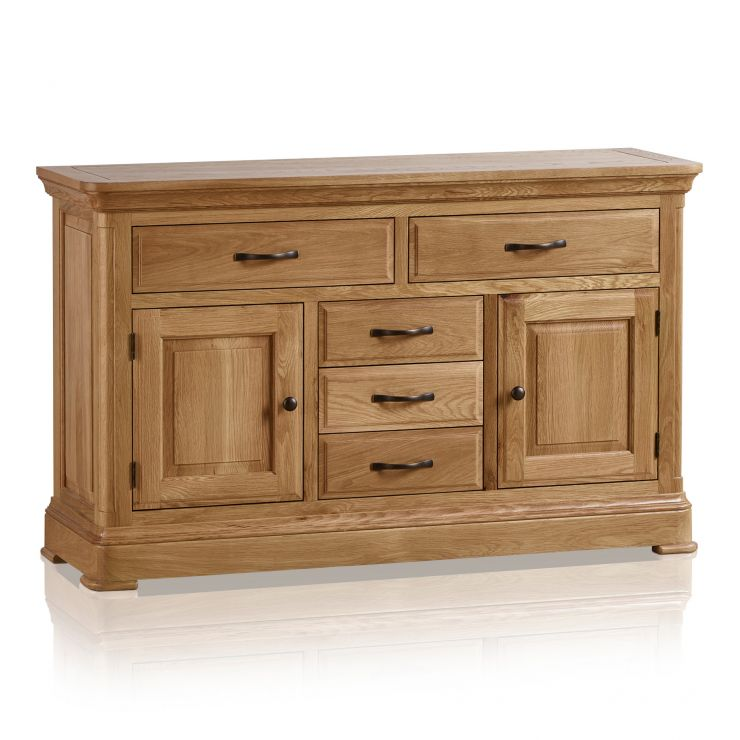 Canterbury Natural Solid Oak Large Sideboard - Image 8