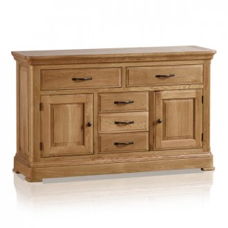 Canterbury Natural Solid Oak Large Sideboard