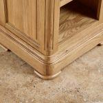 Canterbury Natural Solid Oak Small Bookcase - Thumbnail 6