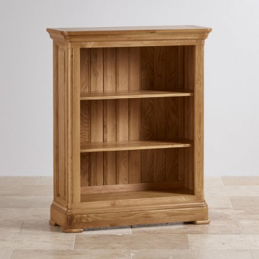 Canterbury Natural Solid Oak Small Bookcase