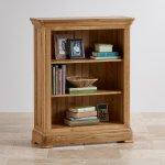 Canterbury Natural Solid Oak Small Bookcase - Thumbnail 2