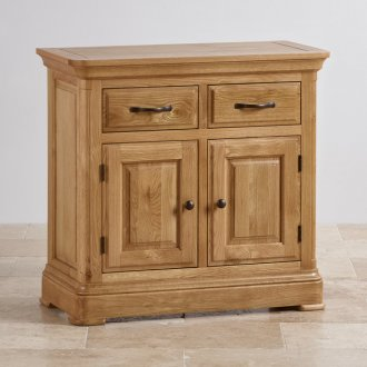 Canterbury Natural Solid Oak Small Sideboard