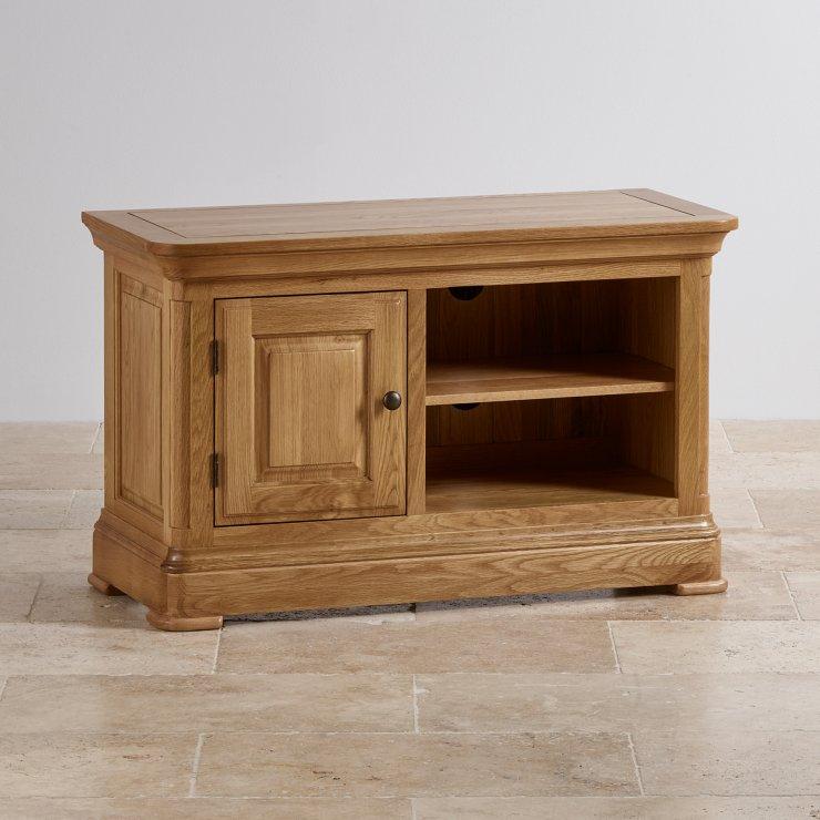 Canterbury Natural Solid Oak Small TV Cabinet