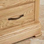 Canterbury Natural Solid Oak Tallboy - Thumbnail 6