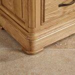 Canterbury Natural Solid Oak Triple Wardrobe - Thumbnail 5