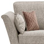 Carrington Loveseat in Breathless Fabric - Biscuit - Thumbnail 5