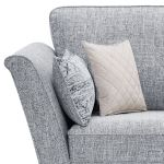 Carrington Loveseat in Breathless Fabric - Navy - Thumbnail 5