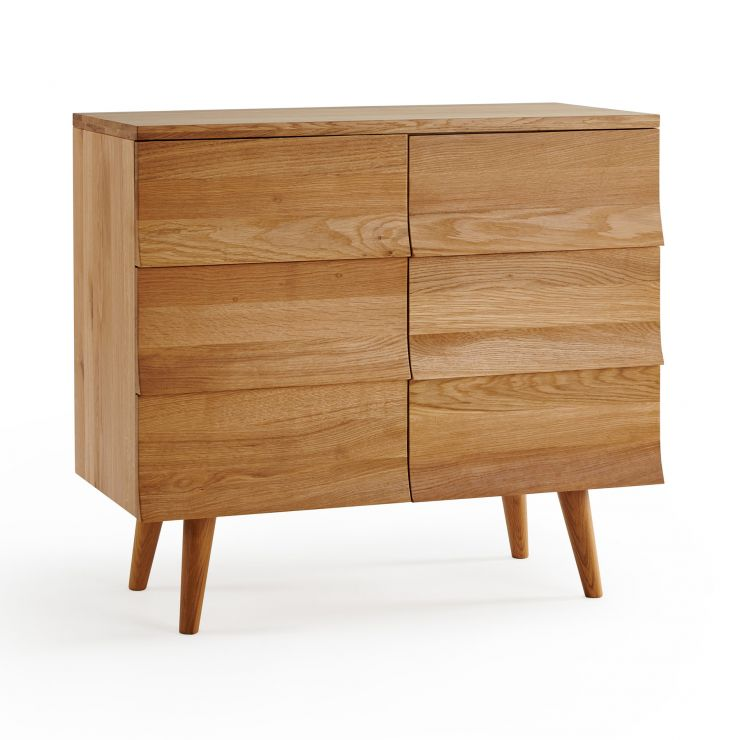 Cascade Natural Solid Oak Small Sideboard
