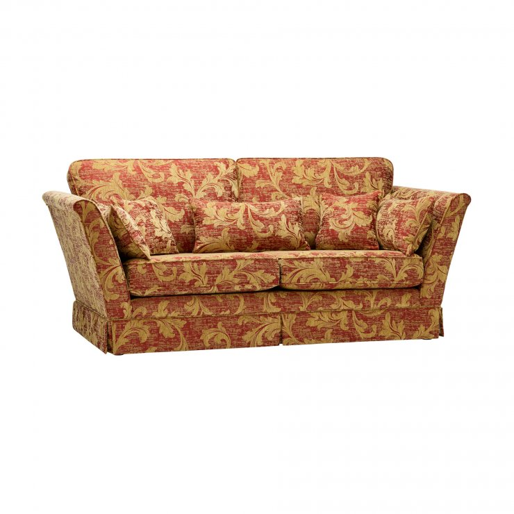 Chartwell 3 Seater Sofa in Rust - Image 5