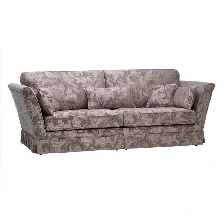 Chartwell 4 Seater Sofa in Grey - Image 6