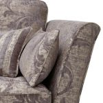 Chartwell 4 Seater Sofa in Grey - Thumbnail 4