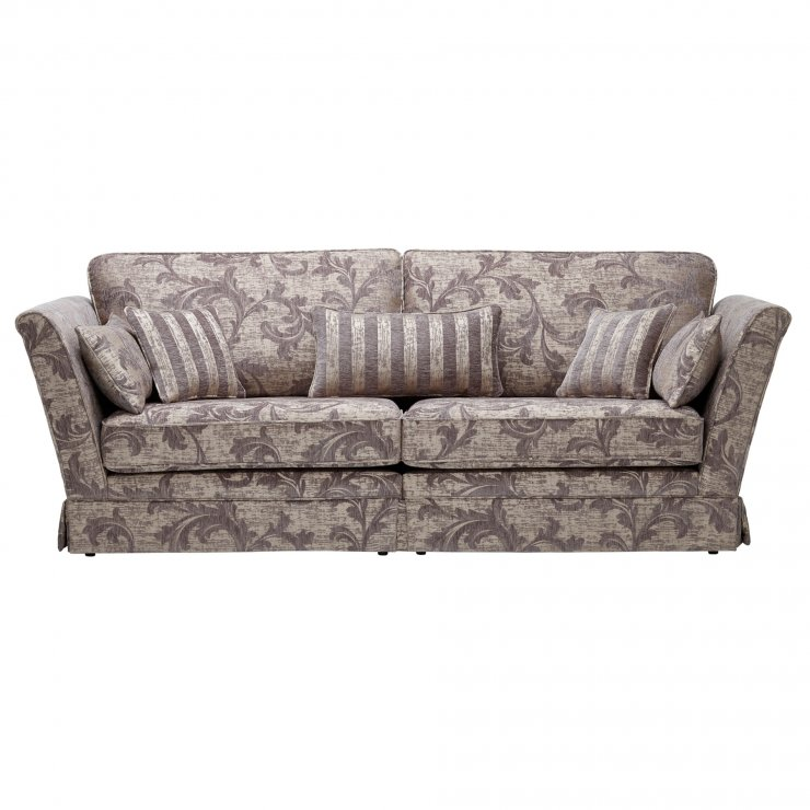 Chartwell 4 Seater Sofa in Grey
