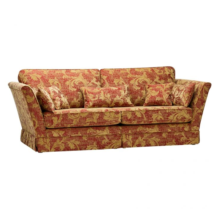 Chartwell 4 Seater Sofa in Rust - Image 5