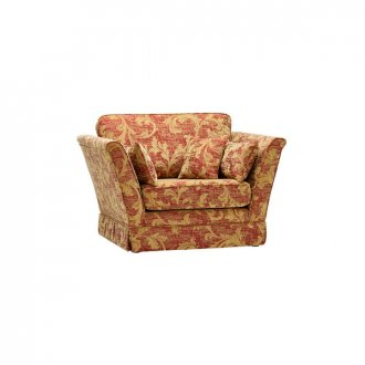 Chartwell Loveseat in Rust