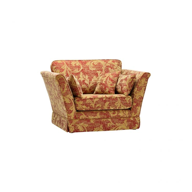 Chartwell Loveseat in Rust - Image 6