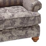 Chartwell Wing Chair in Grey - Thumbnail 5
