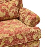 Chartwell Wing Chair in Rust - Thumbnail 5