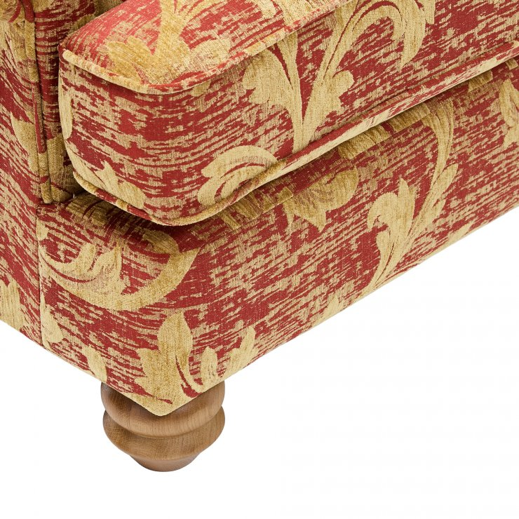 Chartwell Wing Chair in Rust