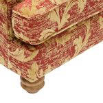 Chartwell Wing Chair in Rust - Thumbnail 7