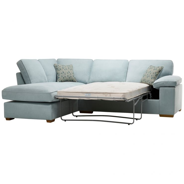 Chelsea Corner Sofa Bed Cosy Sit Sleep Oak Furniture Land