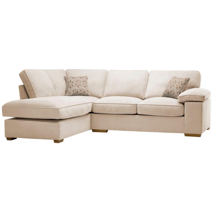 Chelsea Right Hand Corner Sofa in Cosmo Linen