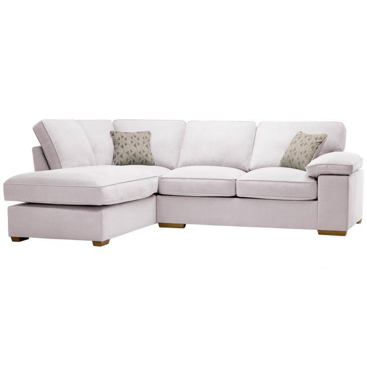Chelsea Right Hand Corner Sofa in Cosmo Silver