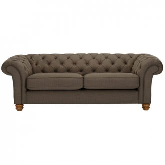 Chesterfield 3 Seater Sofa in Orchid Coffee
