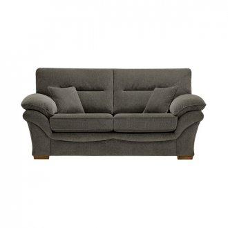 Chloe 2 Seater Sofa High Back in Mizuna Fabric - Duck Egg