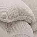 Chloe Armchair in Breeze Fabric - Silver - Thumbnail 7
