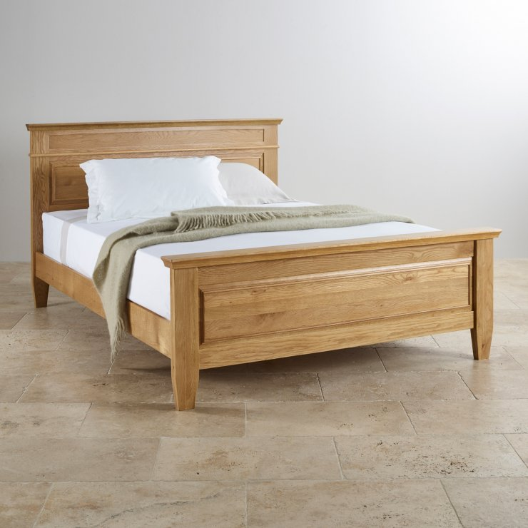 Double Beds 100 Solid Hardwood Oak Furniture Land