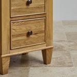 Classic Natural Solid Oak Dressing Table - Thumbnail 5