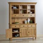 Classic Natural Solid Oak Large Dresser - Thumbnail 3