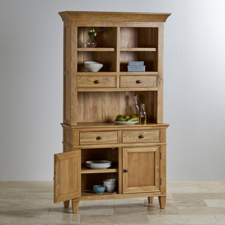 Classic Natural Solid Oak Small Dresser
