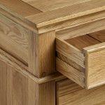 Classic Natural Solid Oak Small Sideboard - Thumbnail 3