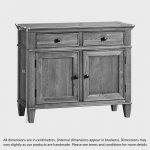 Classic Natural Solid Oak Small Sideboard - Thumbnail 4