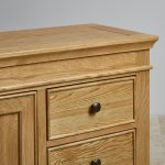 Classic Natural Solid Oak Storage Cabinet - Thumbnail 5
