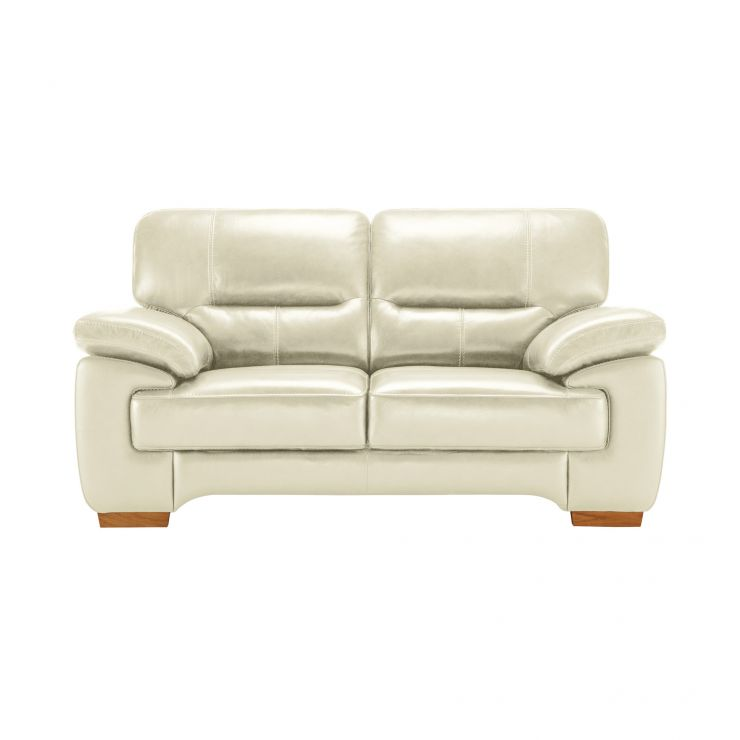 Clayton 2 Seater Sofa in Cream Leather