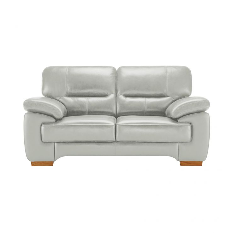 Clayton 2 Seater Sofa in Grey Leather