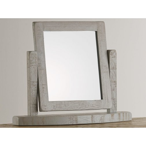Clermont Painted Rough Sawn Oak Dressing Table Mirror