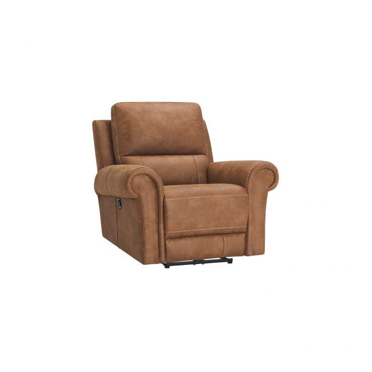 Colorado Electric Recliner Armchair in Fabric