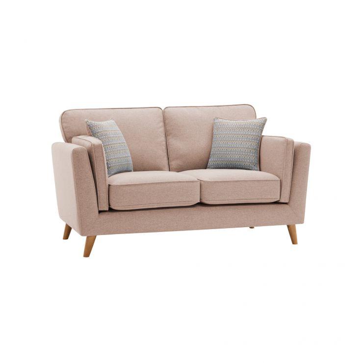 Cooper 2 Seater Sofa in Sprite Fabric - Beige - Image 11