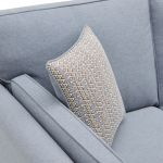 Cooper 2 Seater Sofa in Sprite Fabric - Blue - Thumbnail 6