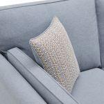 Cooper 3 Seater Sofa in Sprite Fabric - Blue - Thumbnail 7