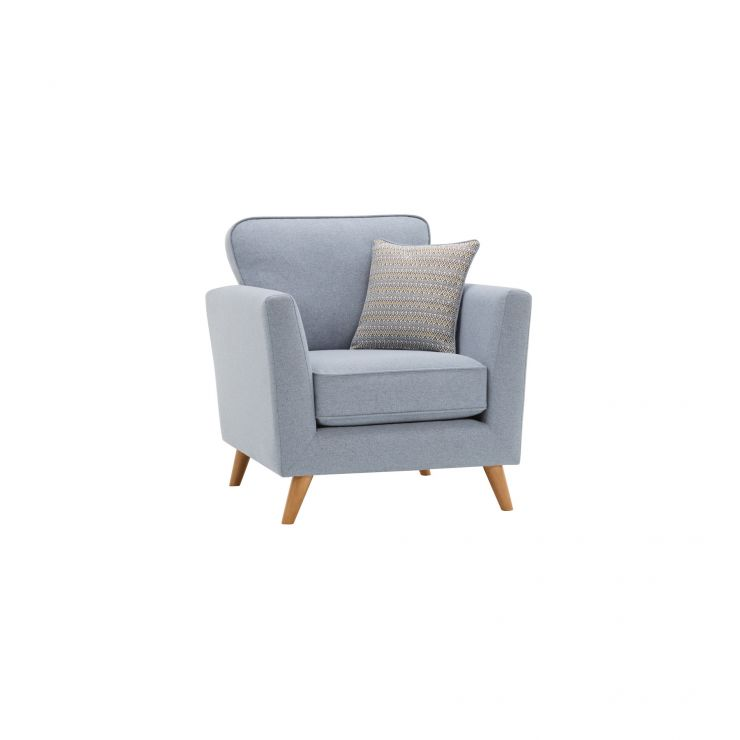 Cooper Armchair in Sprite - Blue - Image 1