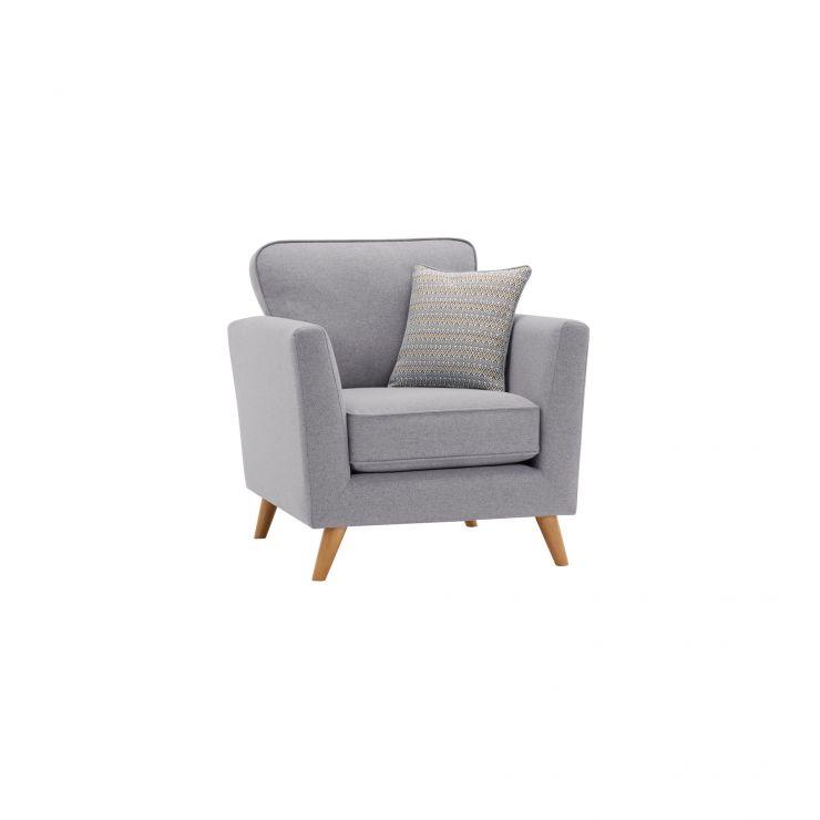 Cooper Armchair in Sprite - Silver
